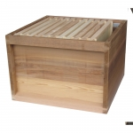 national 14x12 brood box with 11 jumbo frames, assembled