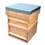 national hive with deep brood (14x12) and flat roof